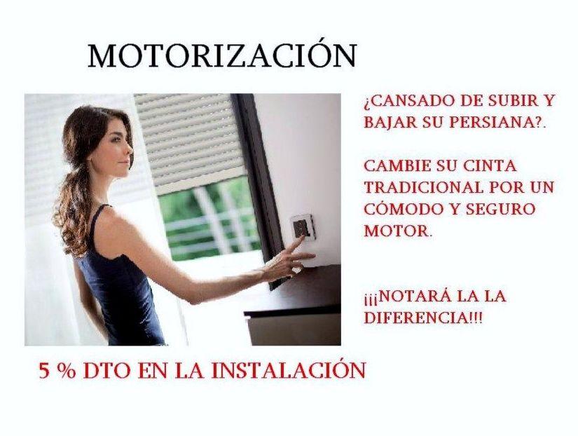 Motorización de persianas