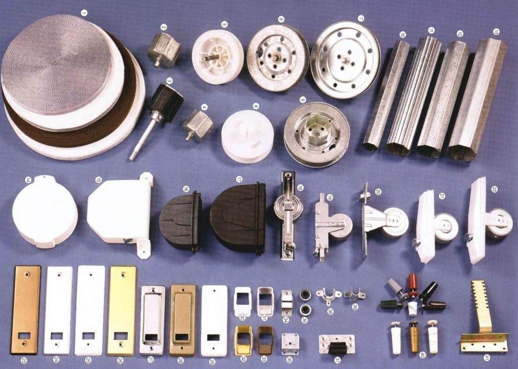 Herrajes de todo tipo para persianas productos de for Herrajes para toldos de aluminio