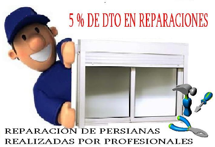 5% EN TODAS LAS REPARACIONES
