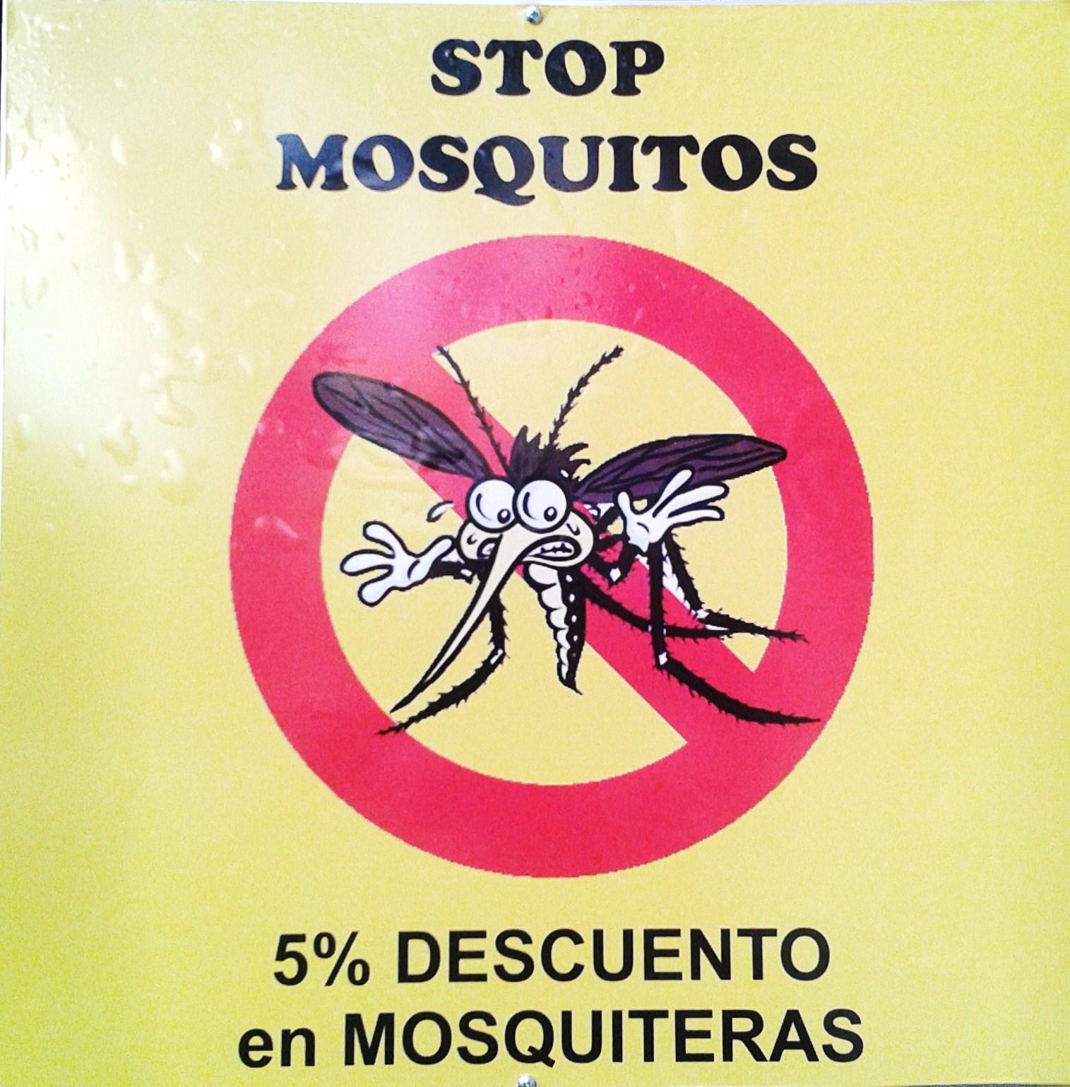 STOP A LOS MOSQUITOS