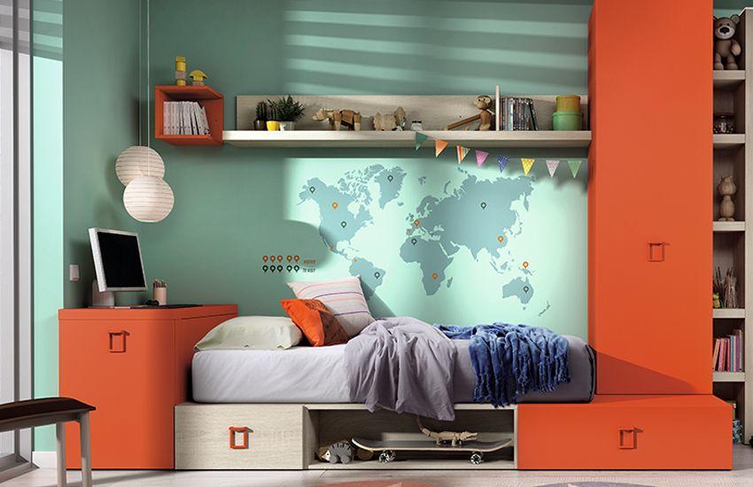 Dormitorio juvenil Jaén