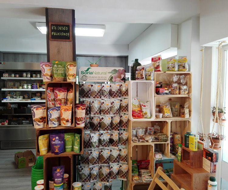 Productos de alimentación ecológica en Madrid