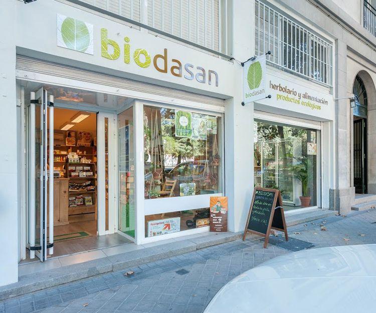 Tienda de alimentación ecológica en Madrid