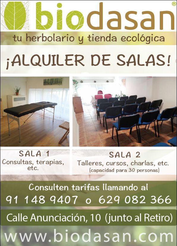 Alquiler de salas: Servicios de Biodasan