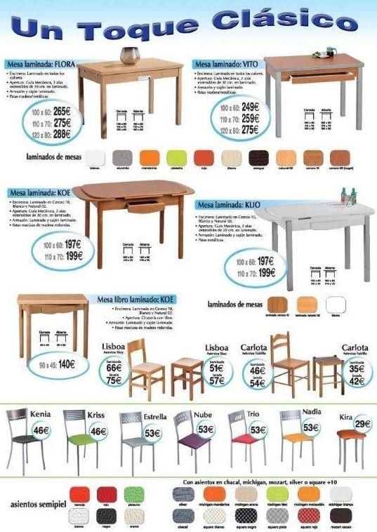 Mesas y sillas en Bilbao