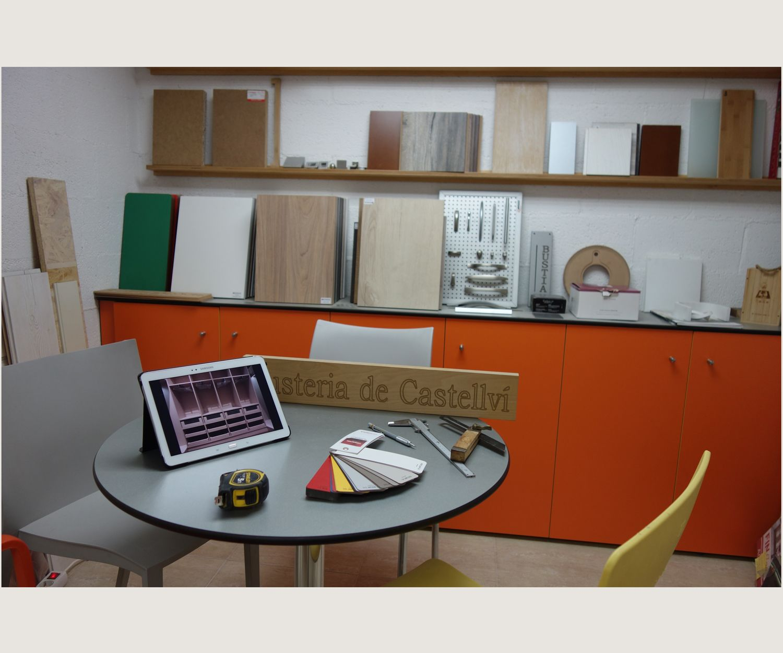 Diseño de muebles en Martorell