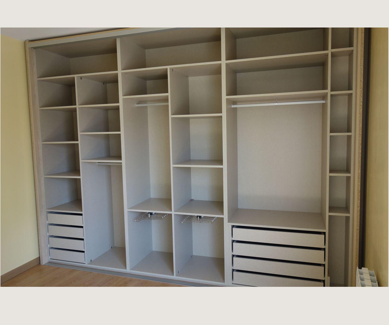 Diseño y fabricación de interiores de armario
