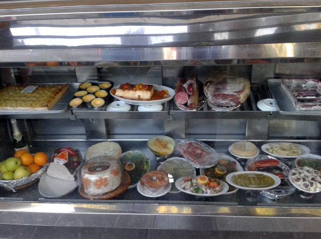 Menú del día con una gran variedad de platos a elegir