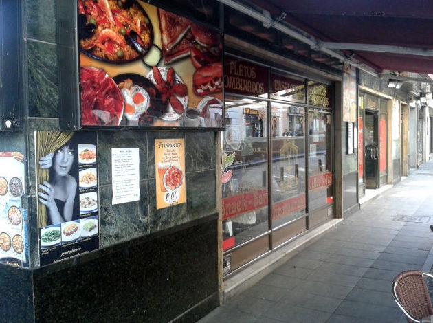 Restaurante junto al Museo Reina Sofía (Madrid)