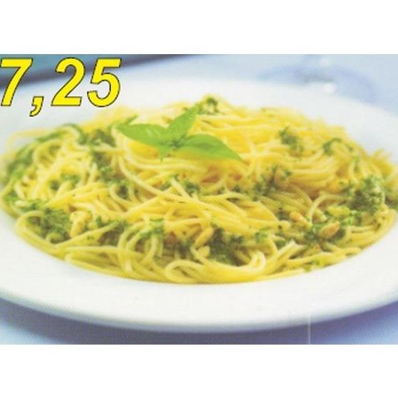Spaghetti al pesto : Carta de Casa Luciano