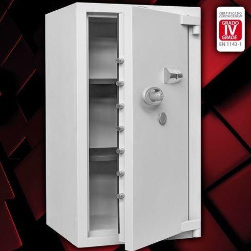 Serie PR cajas fuertes de superficie – Grado IV: Catálogo de Baussa