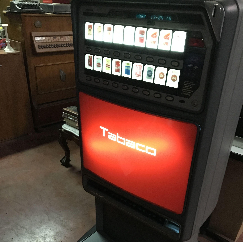 Máquina de tabaco AZKOYEN 16: PRODUCTOS de Rec - Hostel