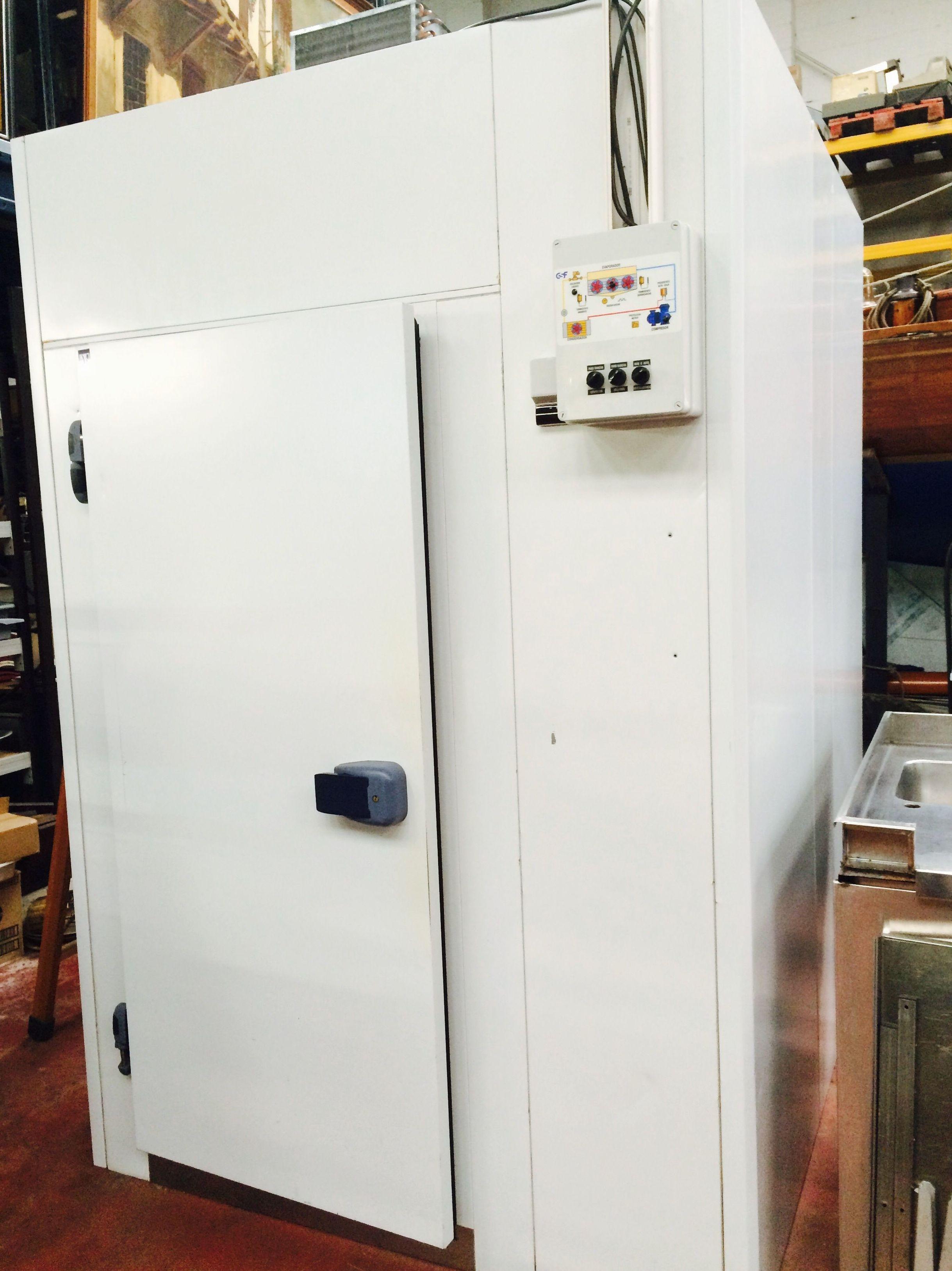 Cámara frigorífica paneles.