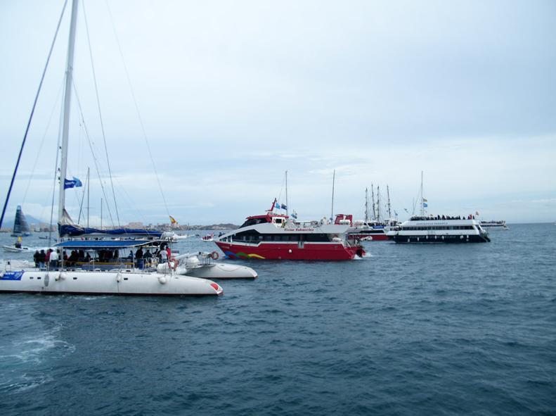 Seguimiento de regatas