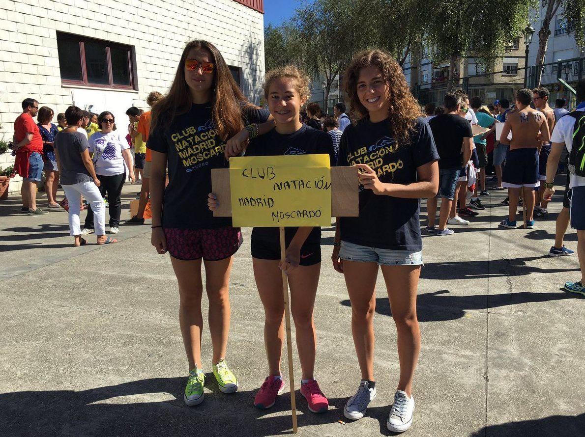 Nuestras nadadoras triunfan en el Descenso del Río Navia