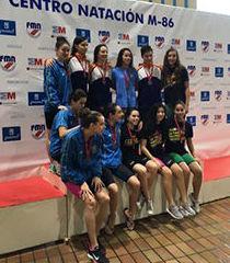Equipo junior, subcampeón en el Campeonato de Madrid de Invierno