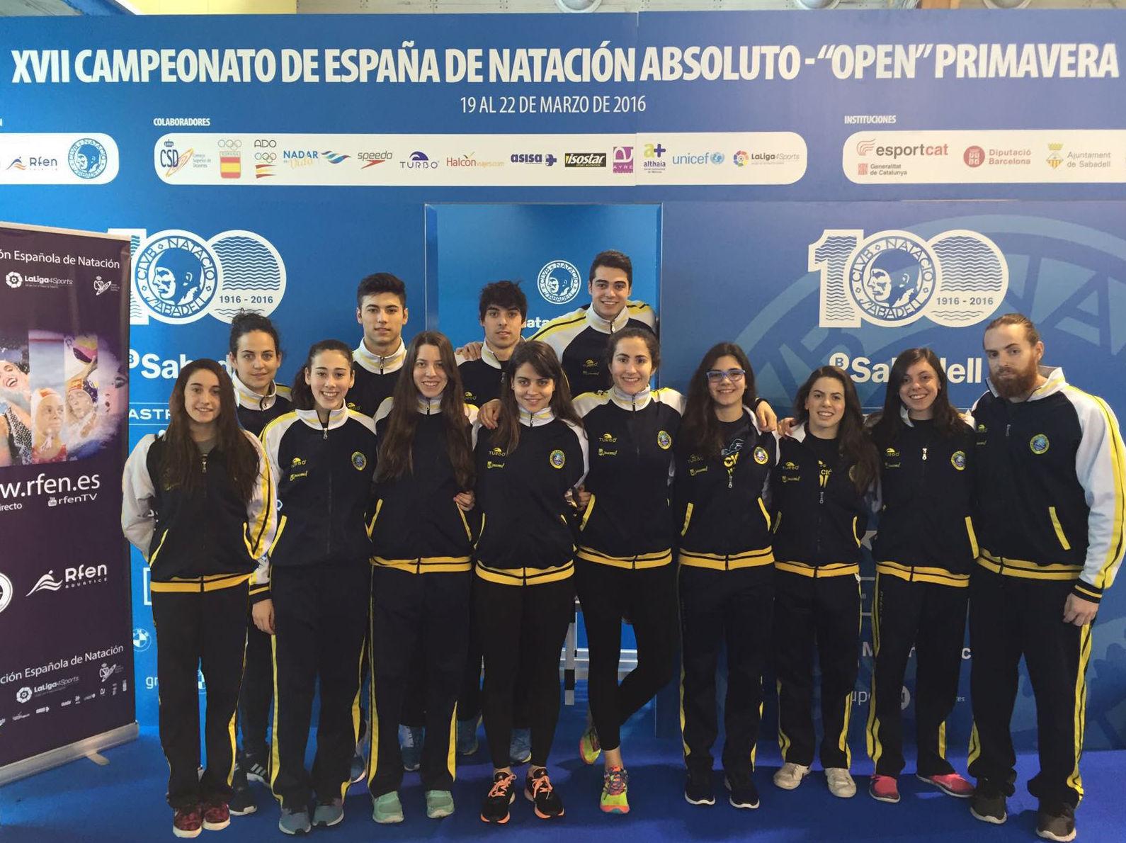 Seis medallas en el Campeonato de España 'Open' de Primavera