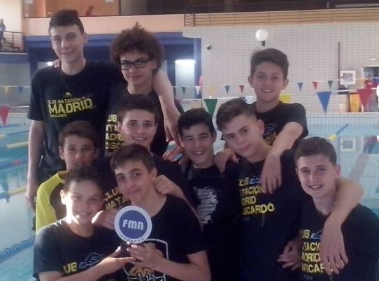 El equipo masculino alevín, subcampeón en la Copa de Madrid de Clubes