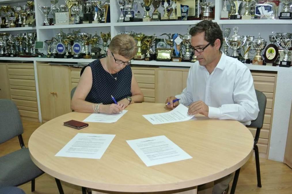 Acuerdo de unión con el C.N. La Latina
