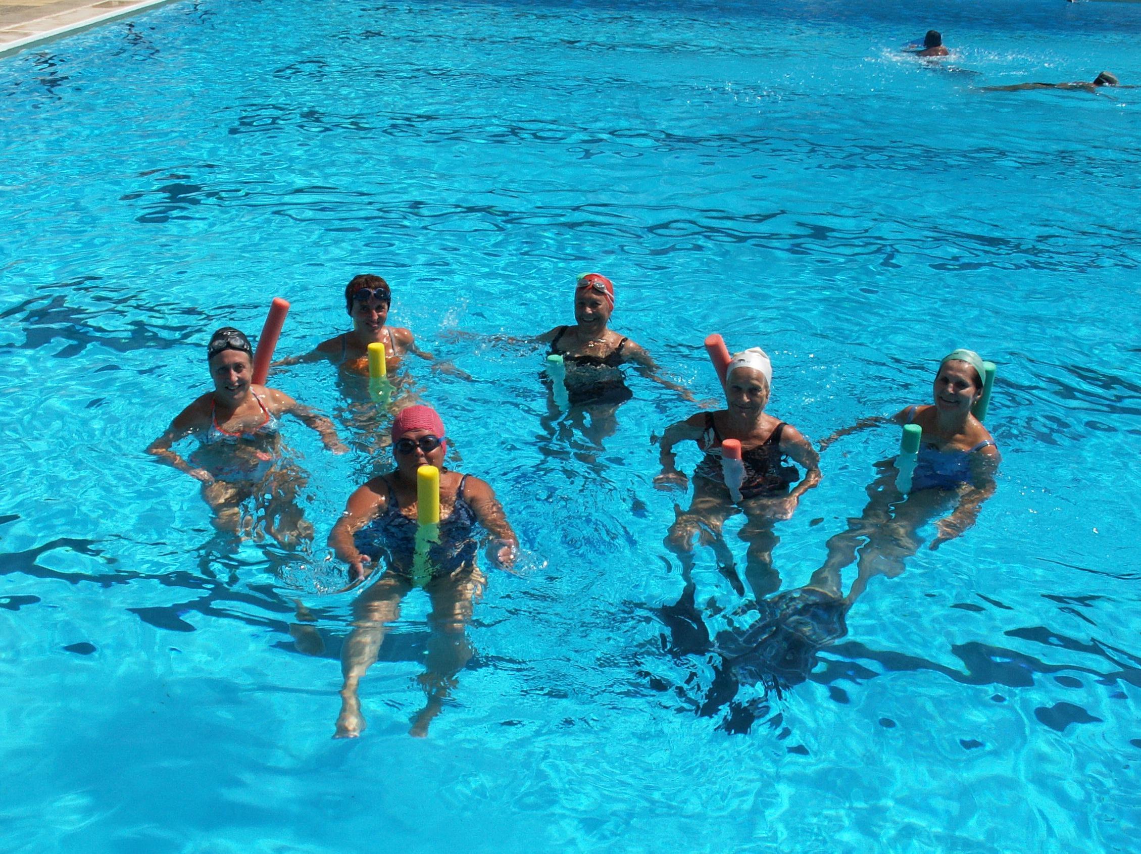 Aqua Gym: Actividades de Club Natación Madrid Moscardó