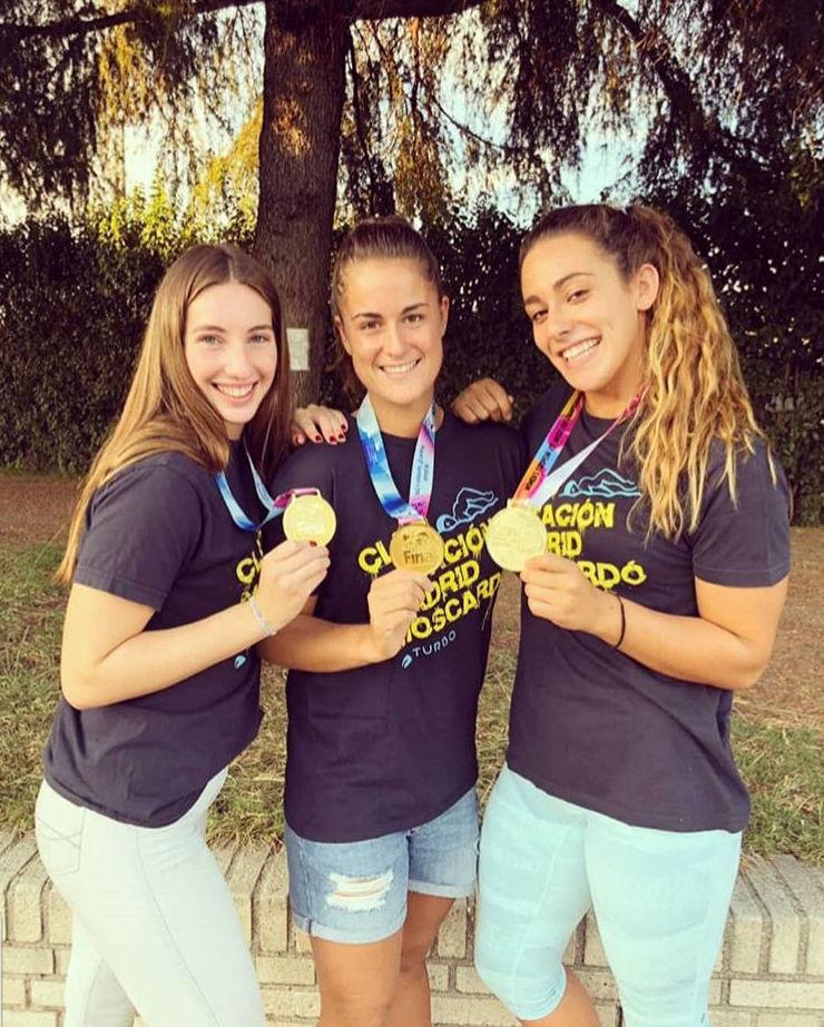 Andrea Arias Campeona del Mundo Juvenil y Sofía Díaz Campeona de Europa Junior