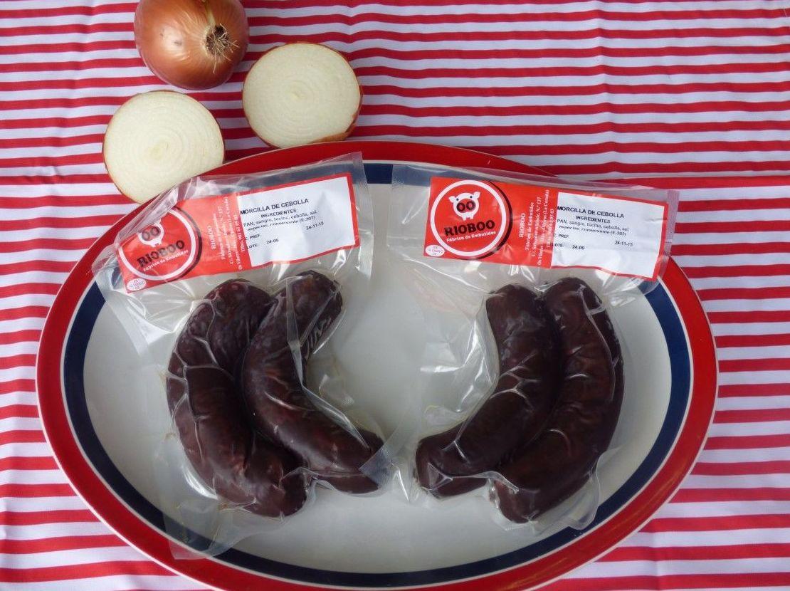 Morcilla de cebolla: Productos de Embutidos Rioboo