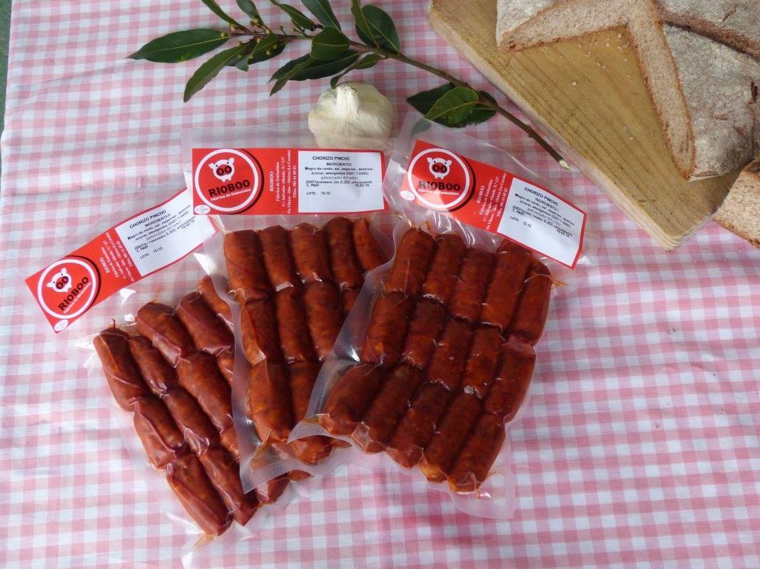 Choricitos: Productos de Embutidos Rioboo