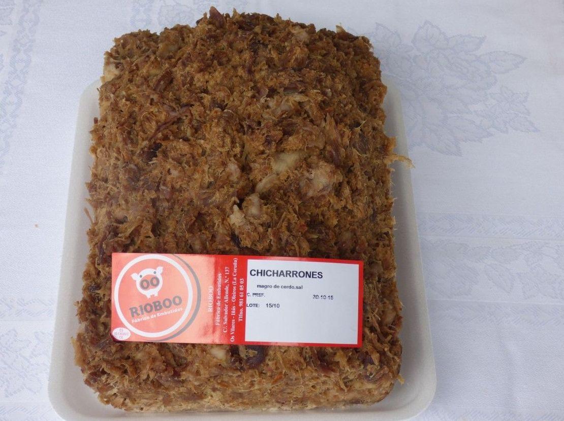 Chicharrones: Productos de Embutidos Rioboo