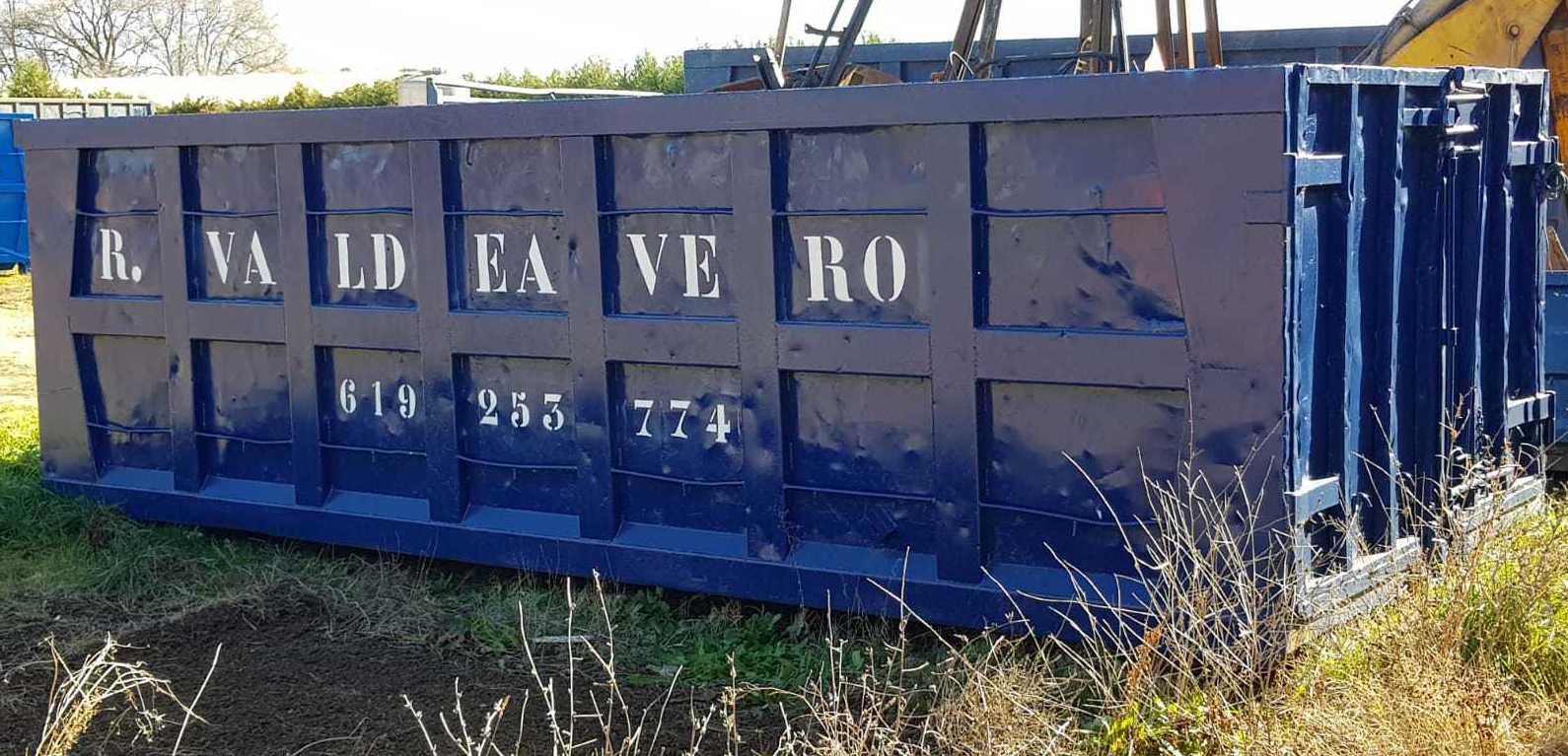 Foto 1 de Fabricación de contenedores en Valdeavero | Recuperaciones y Talleres Valdeavero