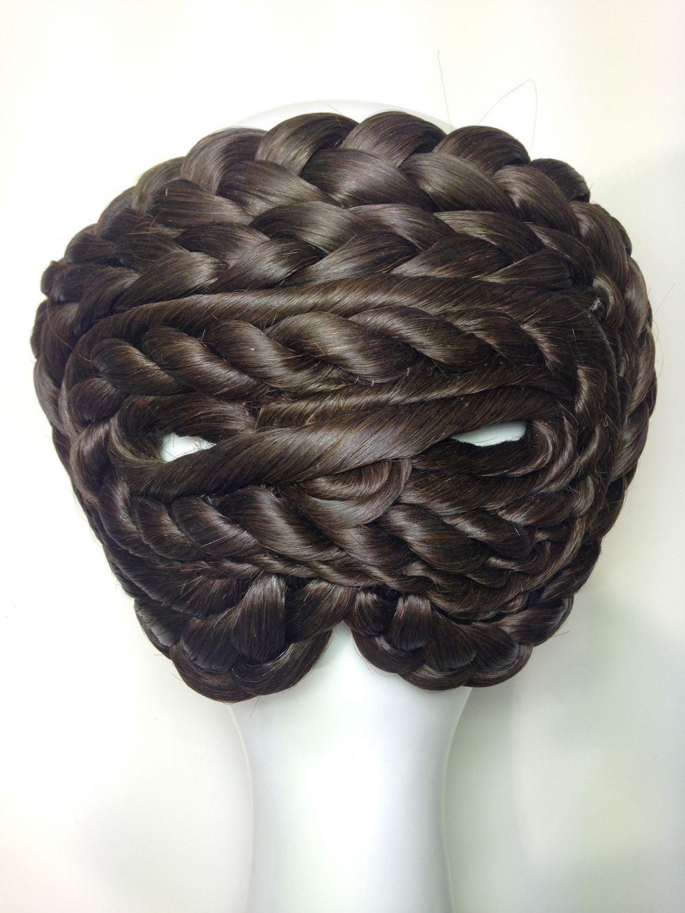 Moño y rodete mediano modelo cordón: Productos de Art & Moño, Amanda Ascot