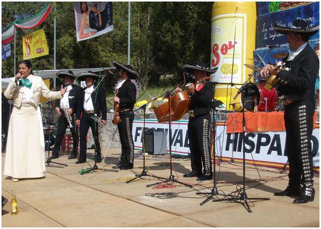 Serenata con mariachis en Madrid