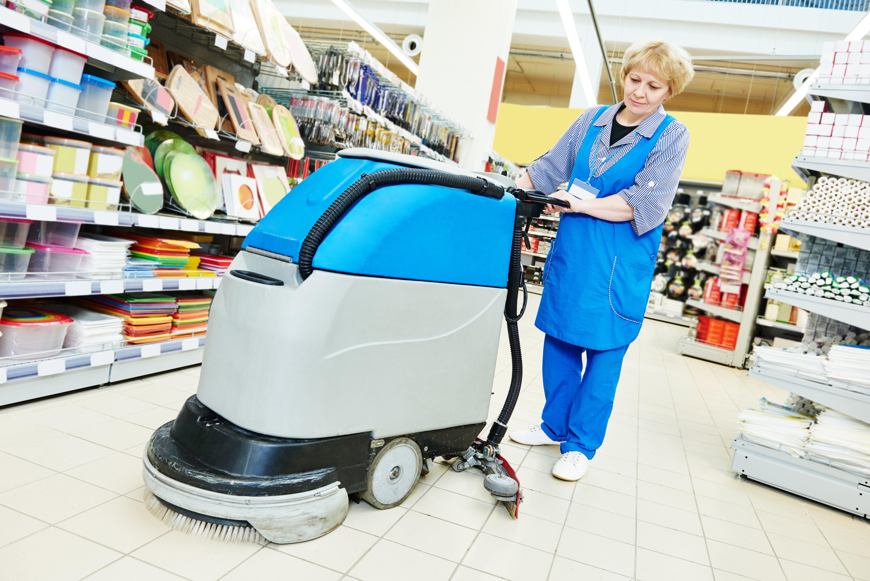 Limpieza de grandes superficies: Servicios de Limpiezas Frederic