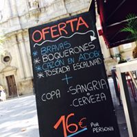 Tapas and daily menu in Barcelona