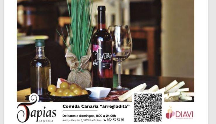 Foto 33 de Cocina canaria en La Orotava | Restaurante Bodegón Tapias