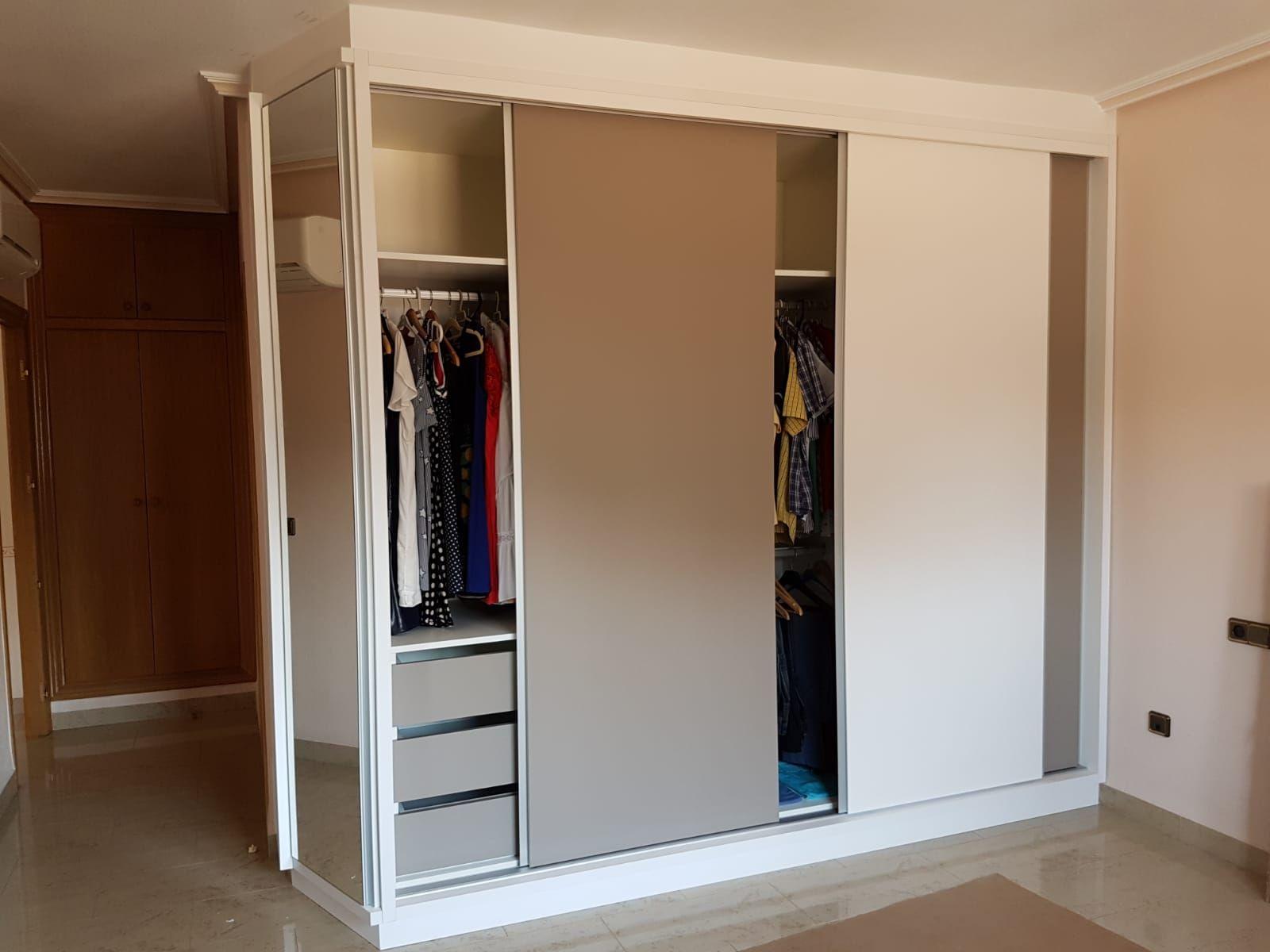 Fabricación de armarios a medida en Murcia