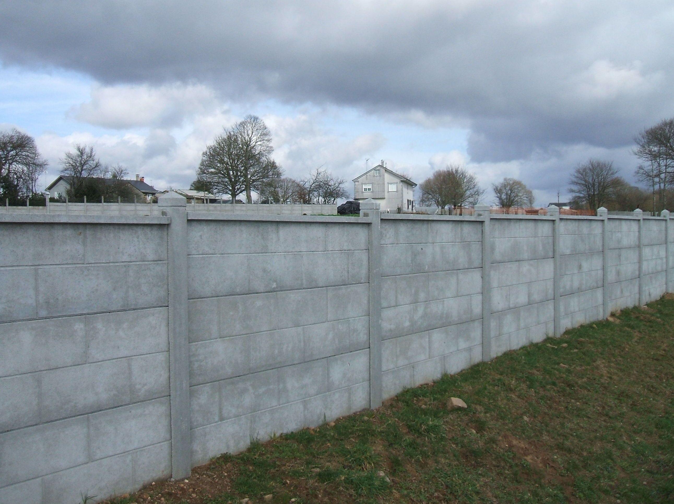 Muros prefabricados de hormig n en lugo de todo tipo - Muros de hormigon ...