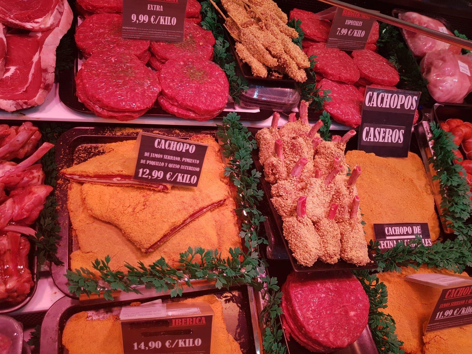 Cachopos caseros sin gluten : Productos de Carnicería La Fuente IV