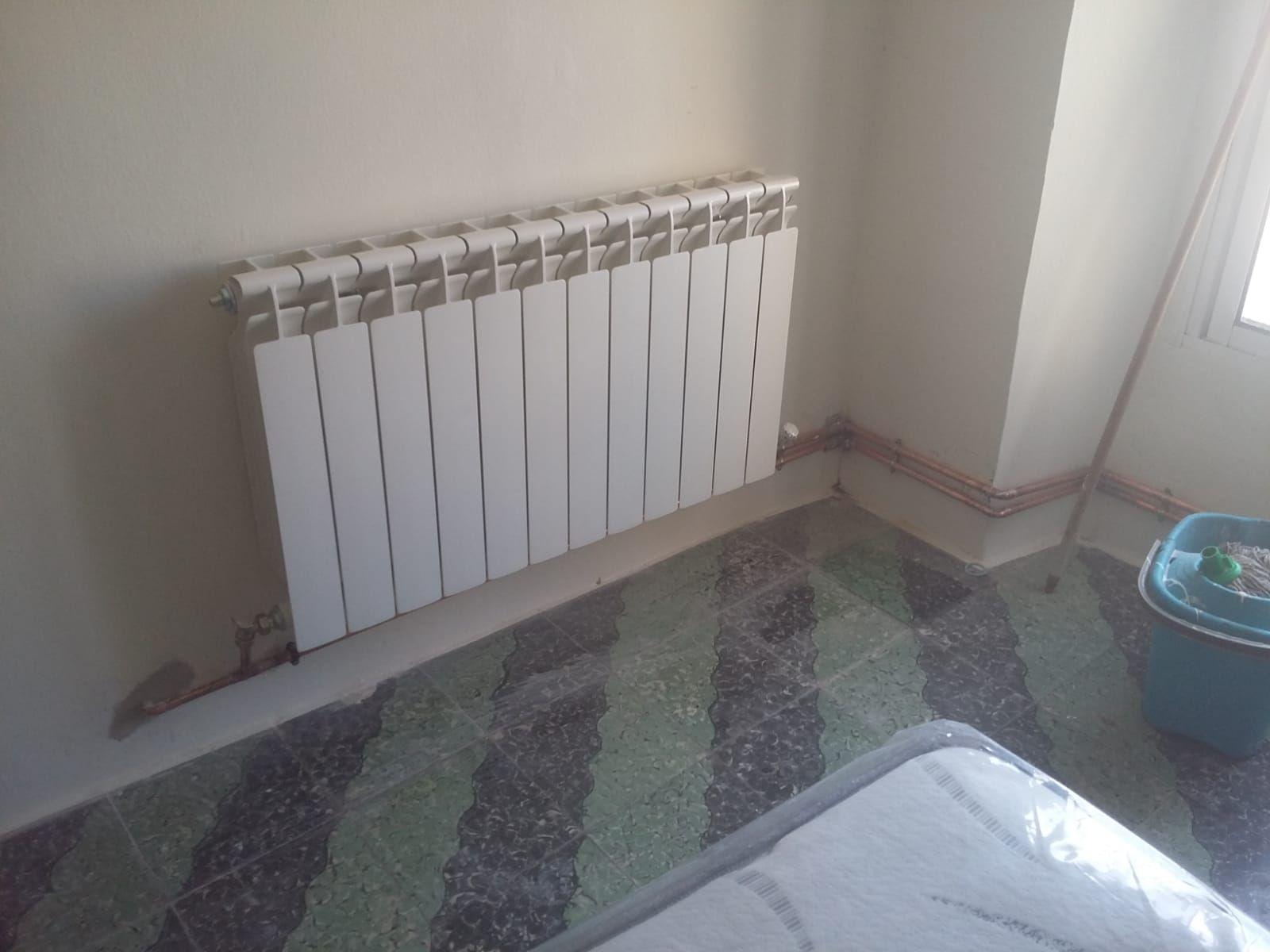 Instalación de calefacción en Mucientes, Valladolid