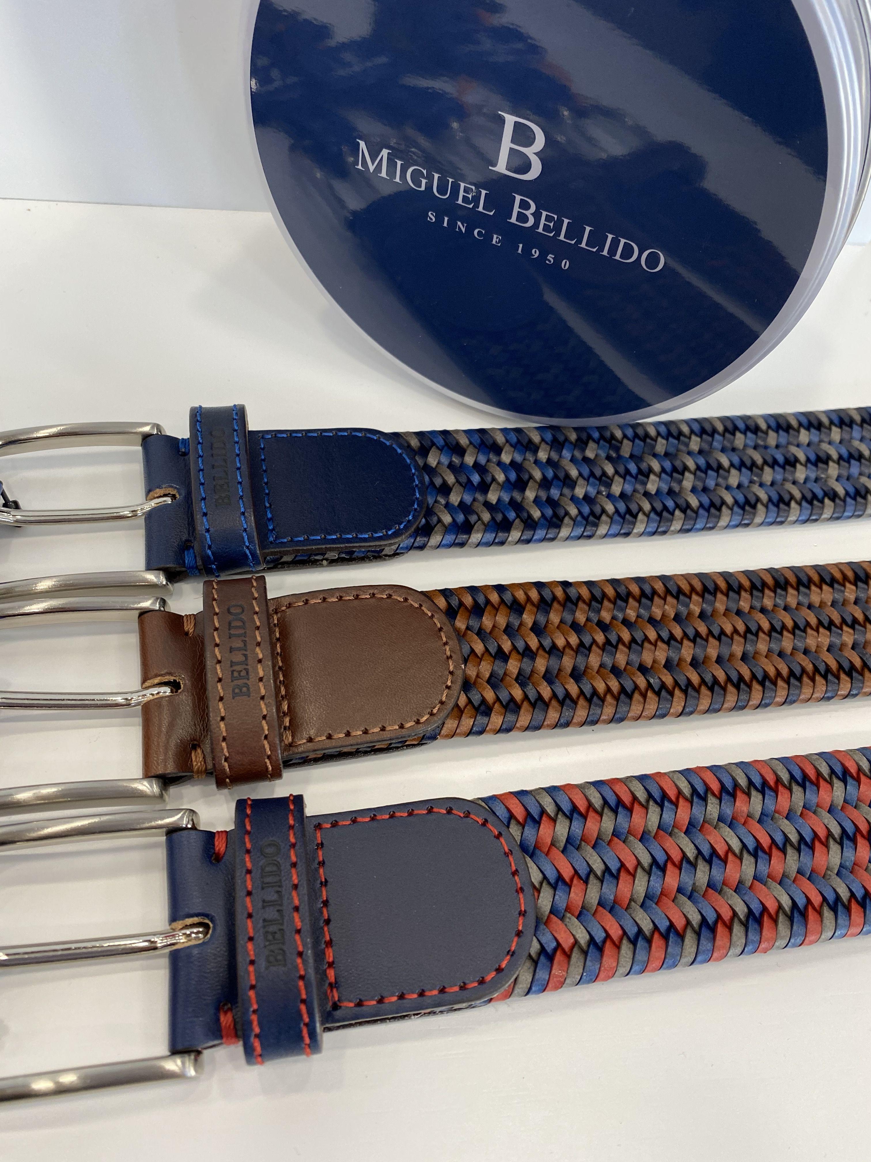 Cinturones de Miguel Bellido