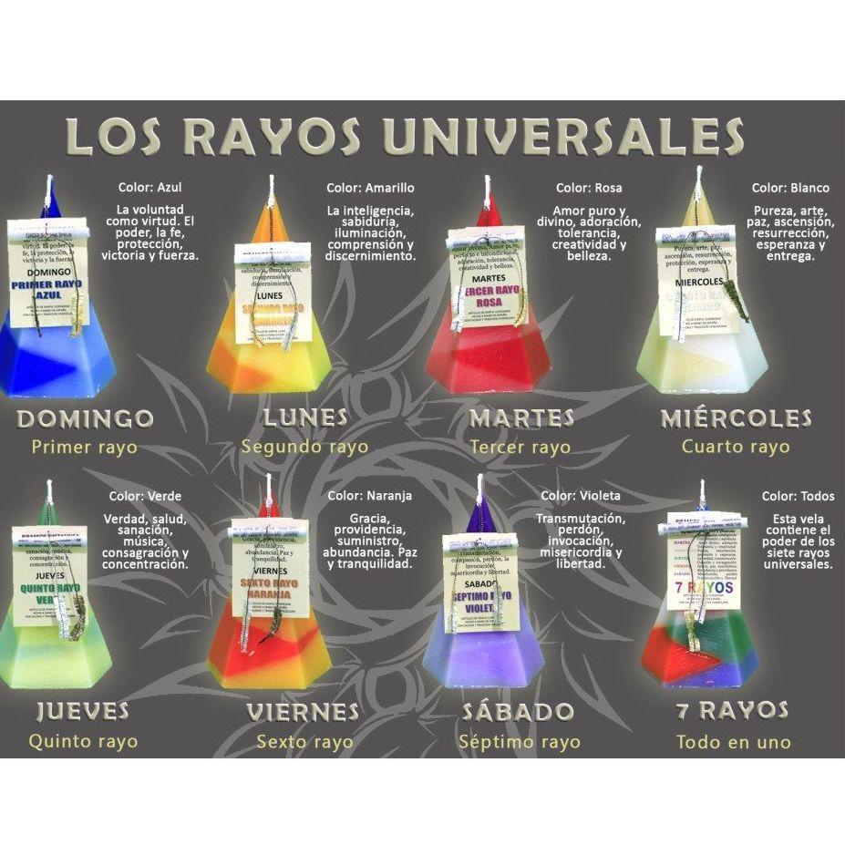 Los rayos universales: Productos de Alumbra a Toda Vela