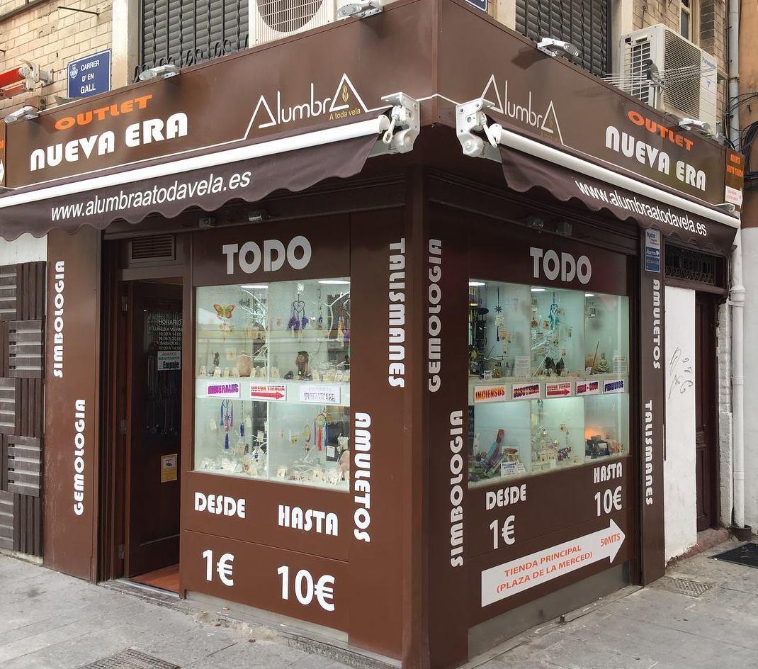 Tienda outlet Nueva Era en el Centro de Valencia