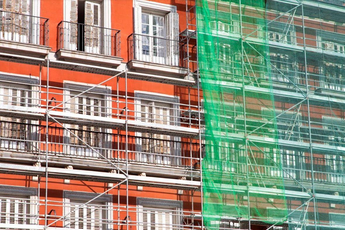 Rehabilitación de fachadas: Servicios de Revestimientos Decormar