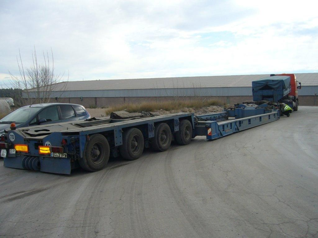 Transportes especiales nacional e internacional
