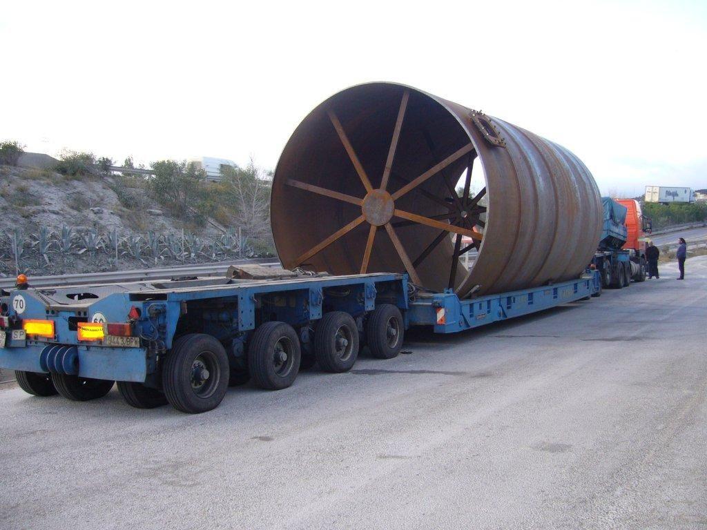 Transporte de carga especial