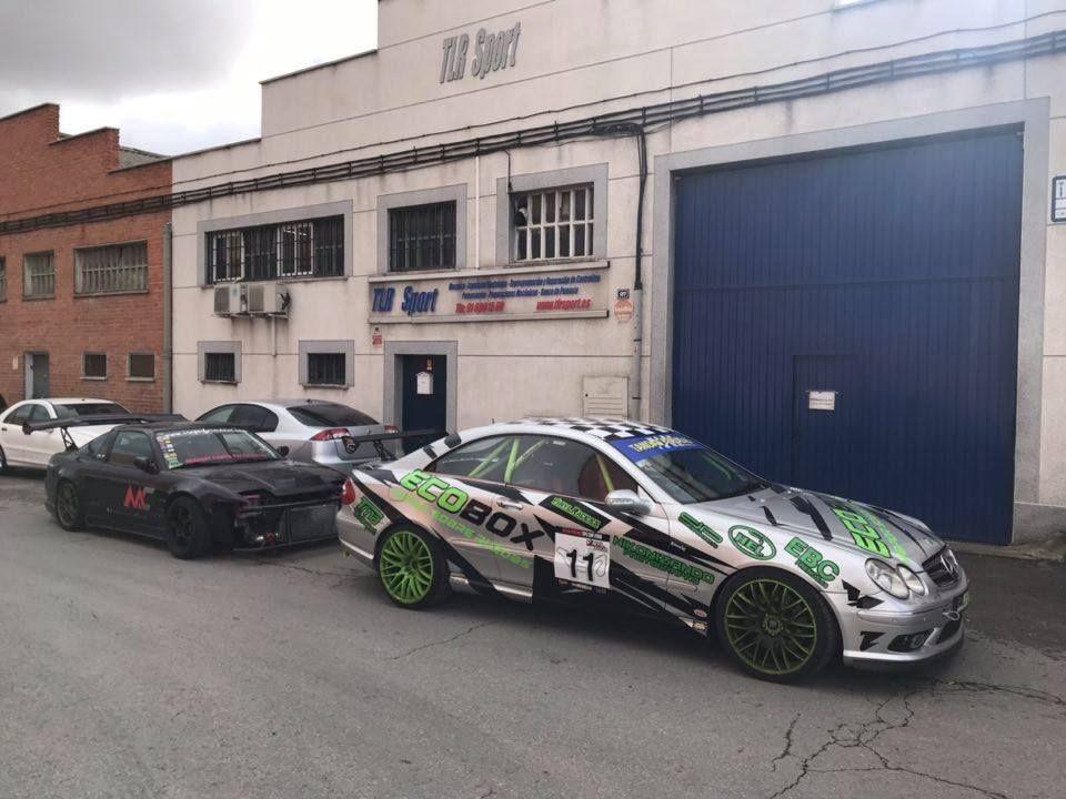 Alquiler de coches de competición en Madrid