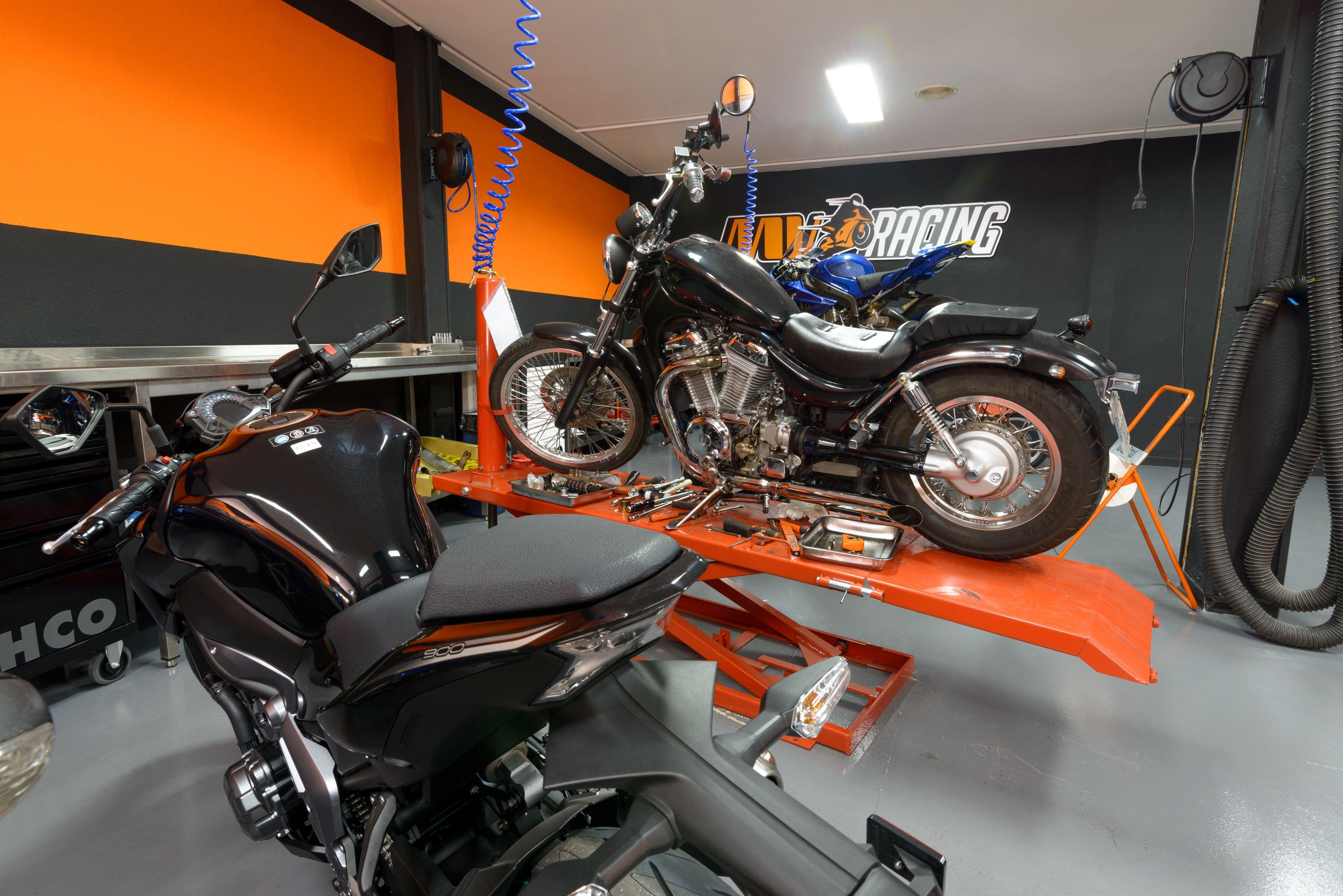 Revisión de motos en Alcobendas