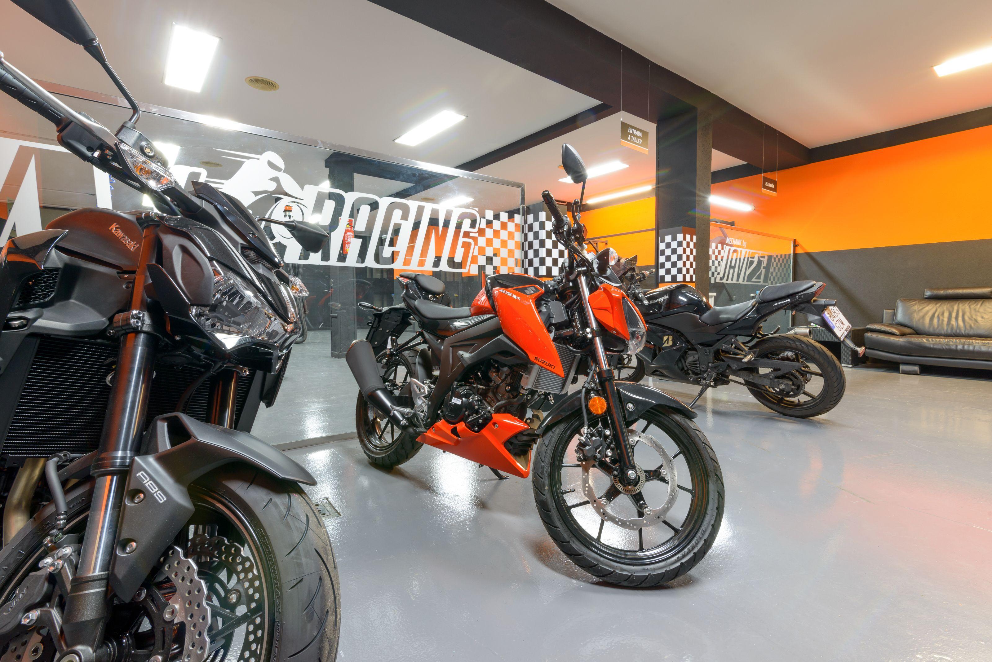Taller de motos en Alcobendas con los mejores profesionales