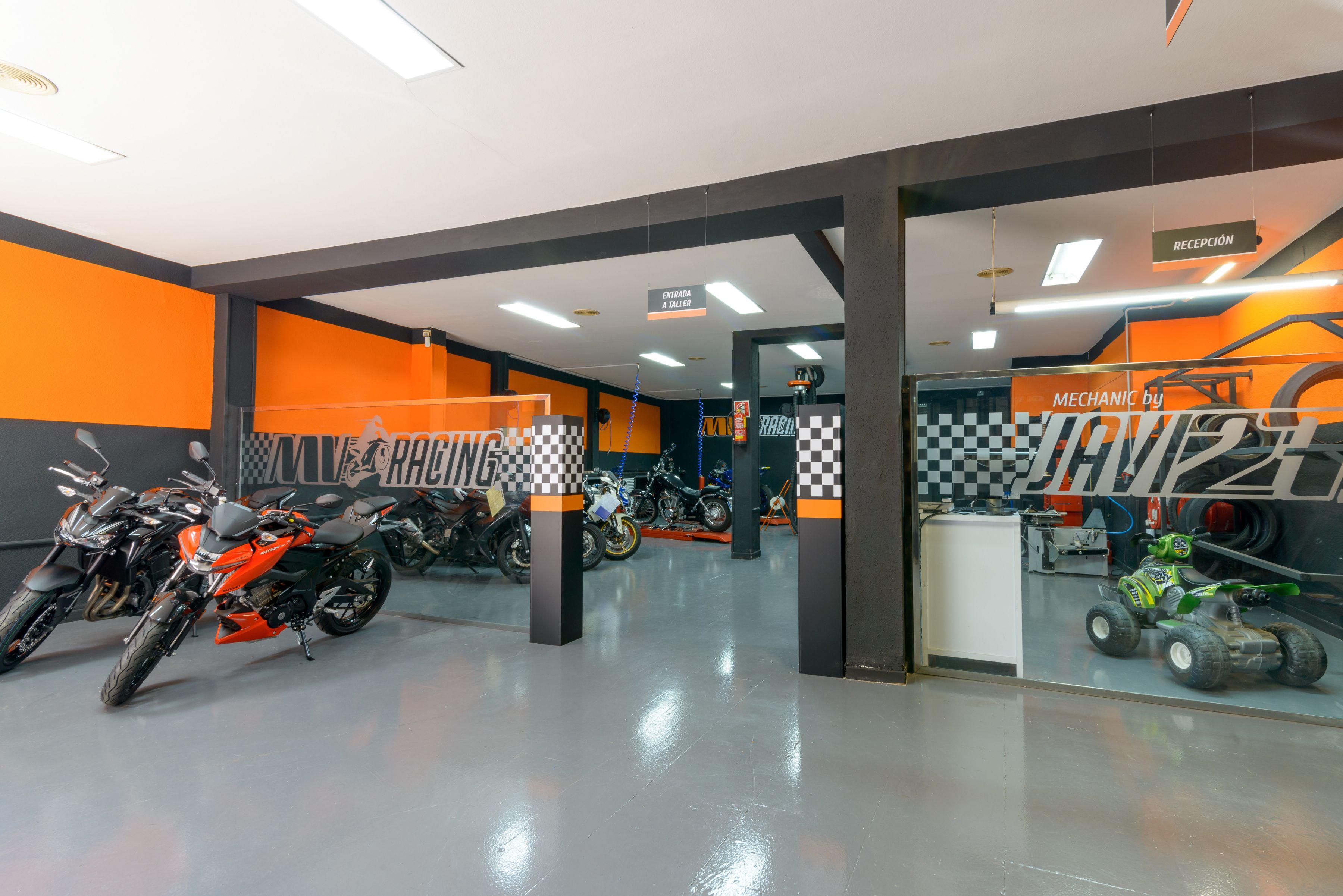 Taller para el mantenimiento de tu moto en Alcobendas
