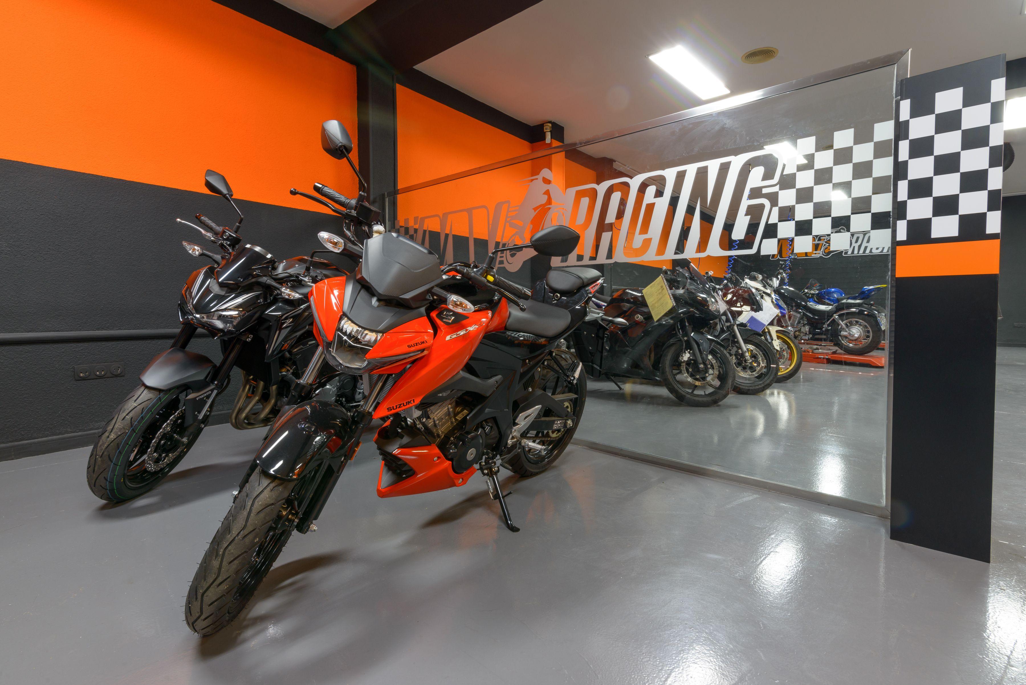 Un lugar donde encontrar la moto de tus sueños en Alcobendas