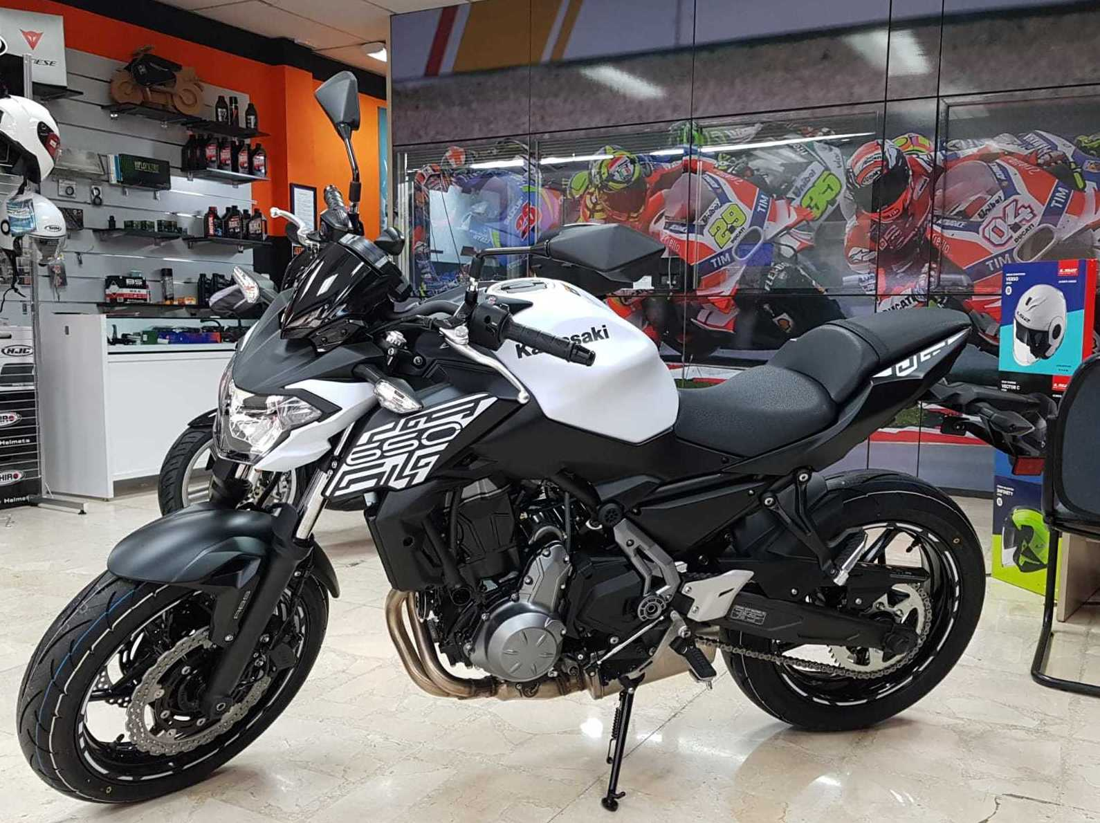 Nueva kawasaki z 650 cc